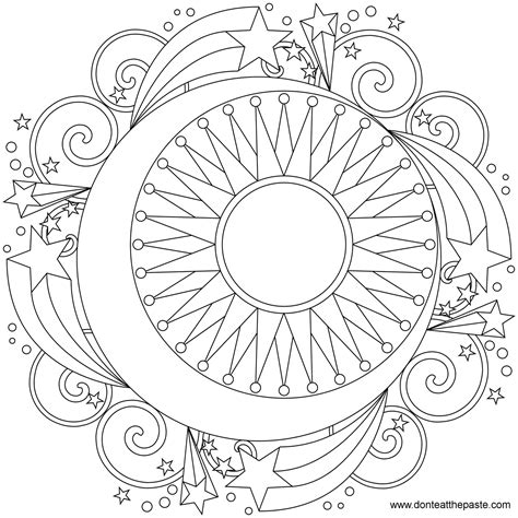 how to color mandalas mandala to color coloring mandalas