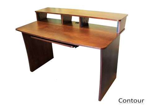 M Gear Design Contour Workstation Recording Studio Desk Recording Studio Desks Workstations