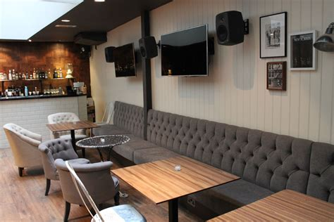 Restaurant Banquette Seating by Kitchen Dining Banquette Seating From Bistro Into Your