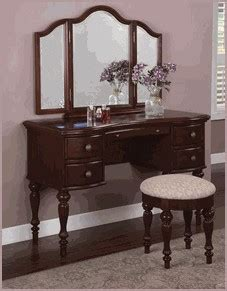 for a s special birthday the white vanity table
