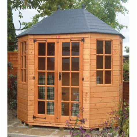 Octagonal Shed by Octagonal Summer House