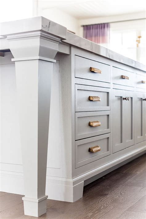 winter gold cabinet hardware kitchen details paint hardware floor ivory
