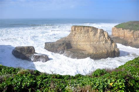 Shark Fin Cove, Davenport, California   On the way up to Año Nuevo