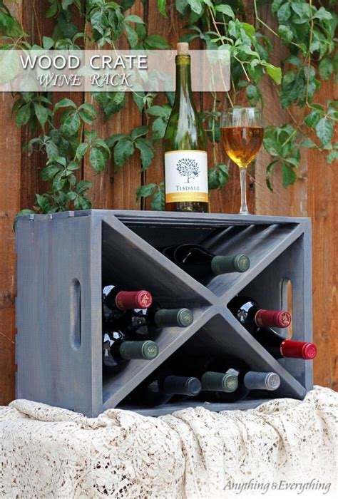P Diddy Sneaks A Peak At Biels Rack by The Great Crate Challenge Wood Crate Wine Rack 아이디어
