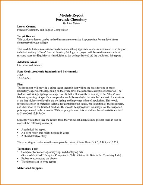 forensic report template 6 forensic report exle financial statement form