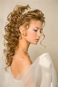 Stylish girls wedding hairstyles with long curls trendy mods com