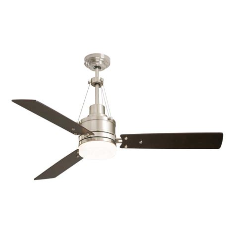 home depot emerson ceiling fans emerson highpointe 54 in brushed steel ceiling fan