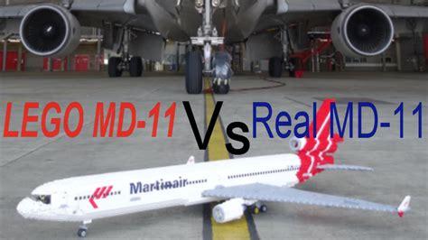 Md Vs lego md 11 vs real md 11 martinair