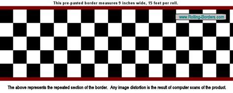 Ck Mini Bordir 9 quot checkered wallpaper border nascar car diner racing f1 ebay