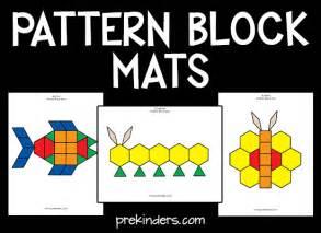 pattern blocks mats docs