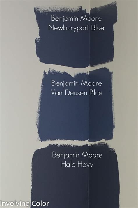 choosing benjamin navy paint colors