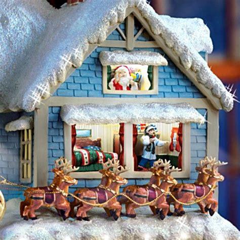 thomas kinkade christmas houses thomas kinkade santas and christmas home decor carosta com