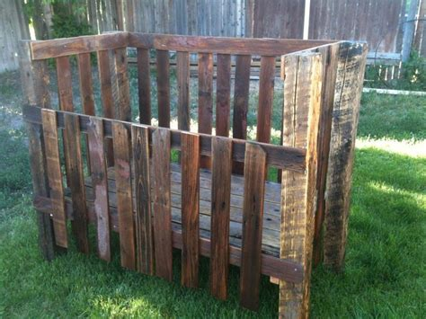 Crib Fence by Crib Made From An Fence Pallets Euroalused