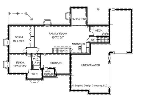 House Plans Daylight Basement by Ranch Style House Plans With Basement House Plans