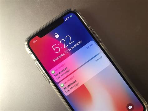 how to enable notification previews on iphone x lock screen