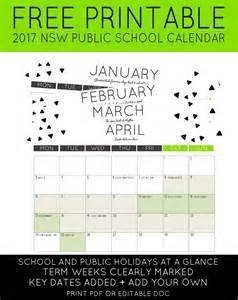Calendar 2018 Nsw School Holidays Calendar 2017 Nsw Holidays Calendar