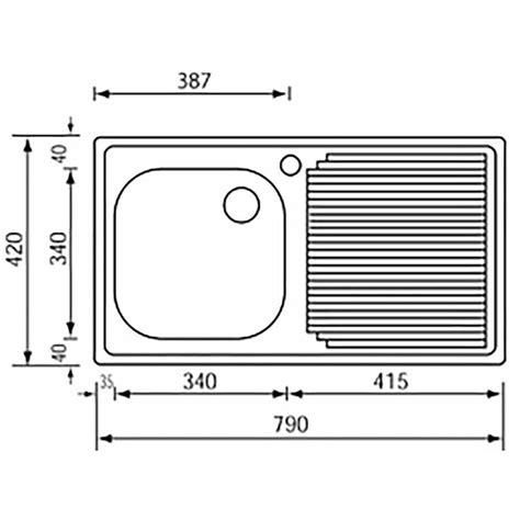 misure lavelli cucina da incasso dimensioni lavello cucina una vasca termosifoni in ghisa