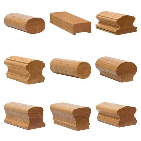 wooden stair banister handrail profiles stair parts com
