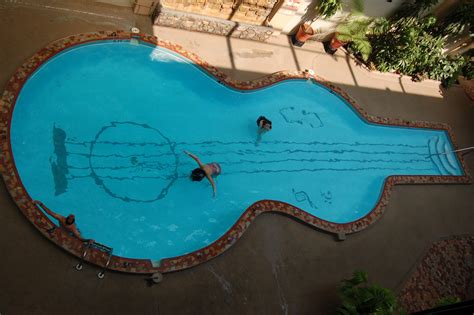 guitar shaped swimming pool nice decors 187 blog archive 187 stylish guitar shaped