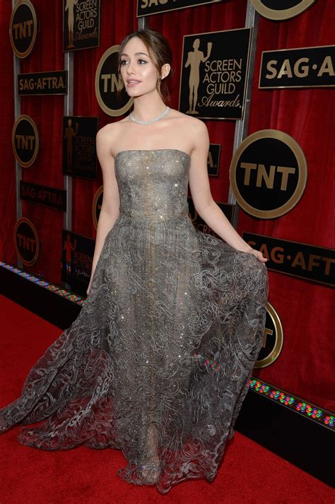 The Sag Award Goes To by Emmy Rossum 2015 Sag Awards In Los Angeles