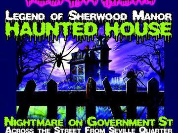 haunted houses in pensacola event location