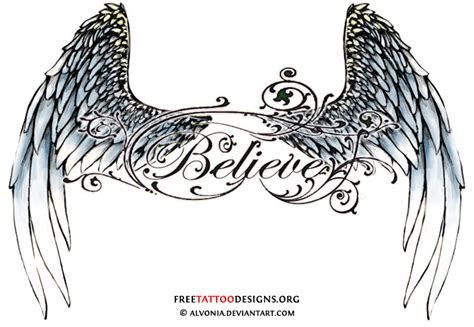 lower back wing tattoo designs wing quotes quotesgram