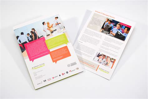 leaflet design nottingham information technology brochure design for nottingham city