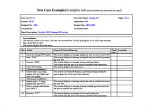 test case template 25 free word excel pdf documents