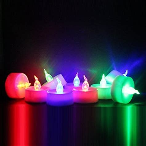 Battery Operated Candles That Change Colors by 19 Best Flameless Tealight Candles 2018