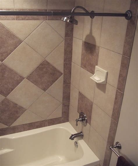 tile design for small bathroom small bathroom tile designs daltile village bend style