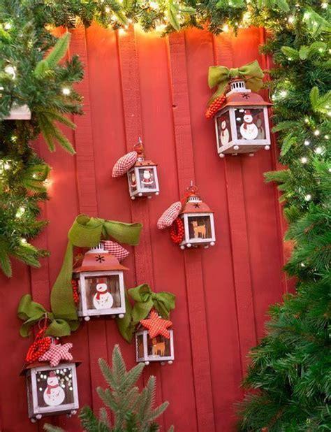decorar jardines exterior ideas para decorar el exterior en navidad
