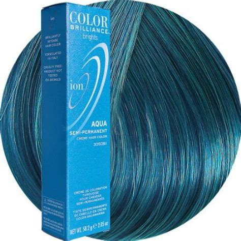 ion color brilliance aqua ion color brilliance aqua hair color
