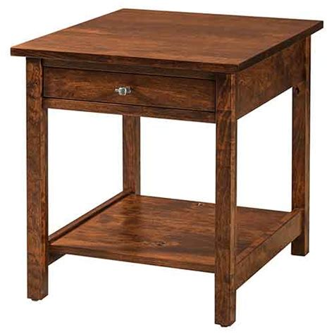 the woodloft amish custom stands and bedside chests