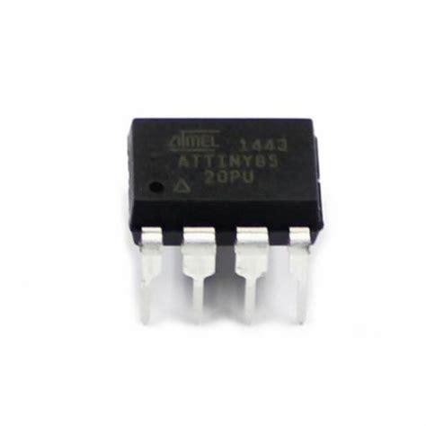 Produk Istimewa Attiny85 20pu 8 Bit Atmel Microcontroller Dip8 Mcu Uc attiny85 20pu ic mcu 8bit 8kb flash 8dip atmel arduino shop cz