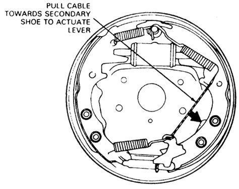 ford drum brake diagram rear drum brake diagram ford truck enthusiasts forums