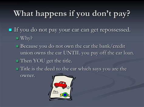 What Happens If You Dont Detox by Ppt Buying A Car Powerpoint Presentation Id 3924075