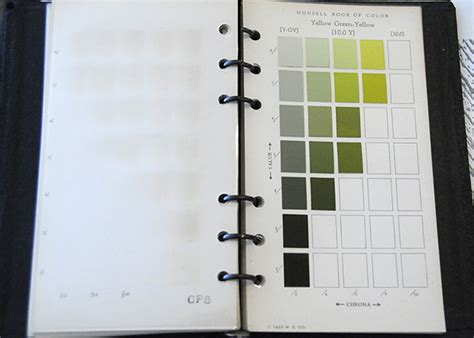 munsell vintage book of color pocket edition munsell color system color matching from