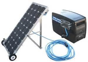 solar powered home generator the best portable solar powered generator solar