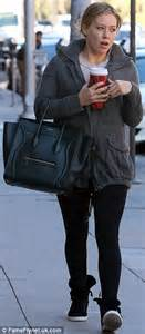Light Up Sippy Cup Make Up Free Mom Hilary Duff Takes A Coffee Break After