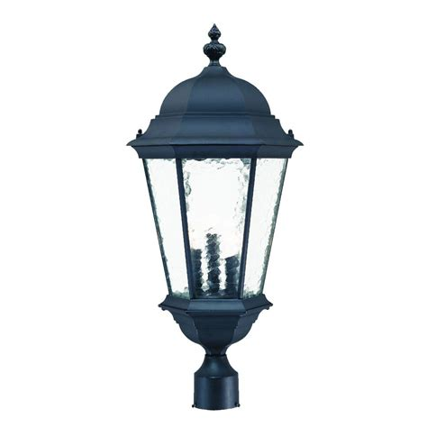 Acclaim Lighting Acclaim Lighting 5527bk Post Mount Lighting Telfair