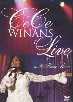 cece winans throne room cece winans live in the throne room dvd at christian cinema