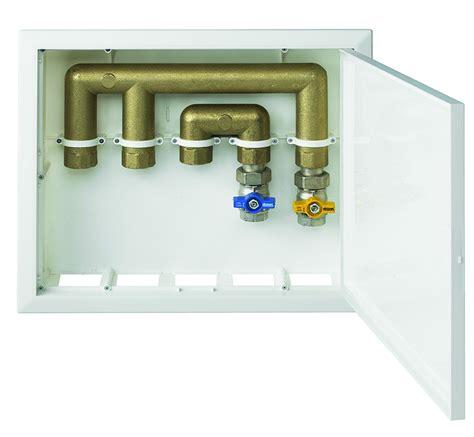cassetta acqua cassetta da incasso in plastica per distribuzione gas e