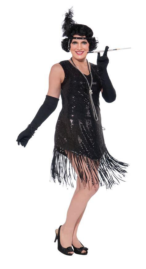 plus size flapper costume 1920s costumes 20s halloween adult 20s flapper sequins woman plus costume 42 99