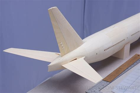 How To Make A Model Paper Airplane - a 1 60 scale boeing 777 built entirely from paper manilla