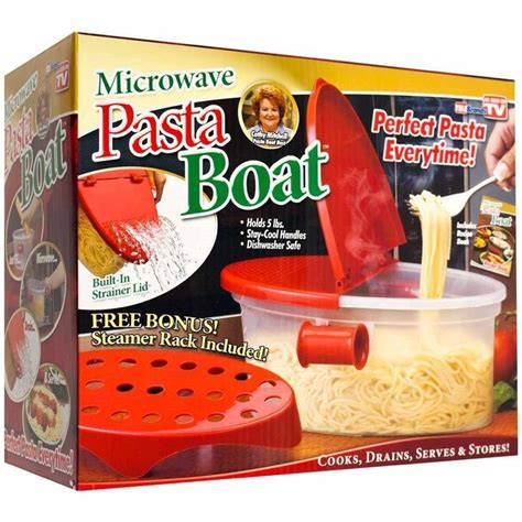 pasta boat recipe book cooking pasta n more microwave pasta boat