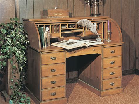 old fashioned computer desk roll top desk furniture plan 066d 1522 house plans and more