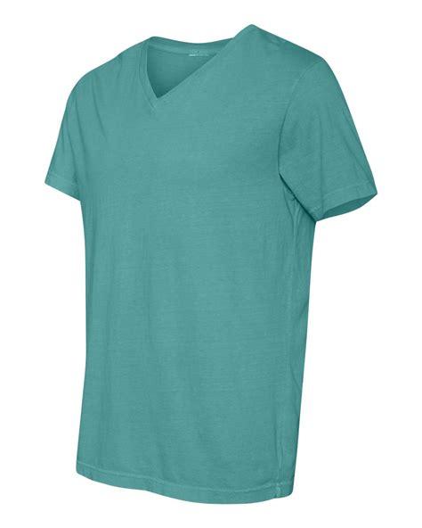comfort shirts comfort colors 4099 pigment dyed v neck t shirt 5 88