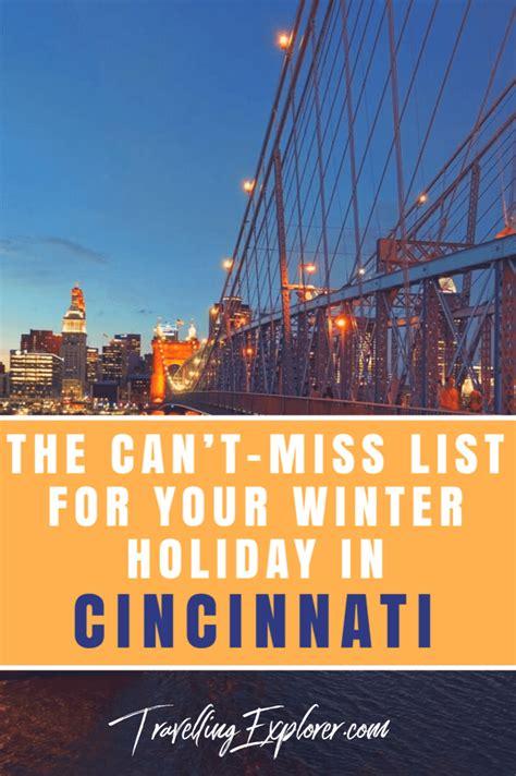 list   winter holiday  cincinnati