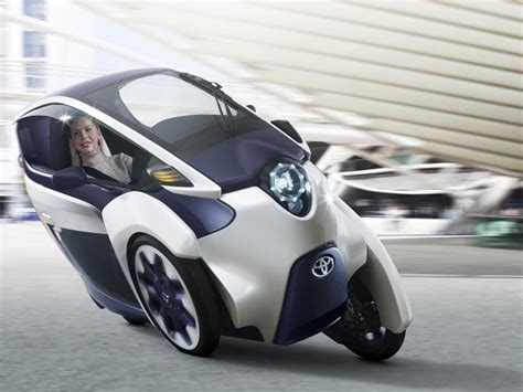 Toyota Electric I Road Electric Personal Mobility Vehicle By Toyota