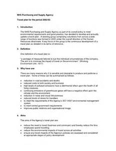 Business Travel Plan Template Travel Company Business Plan Travel Agency Business Plan